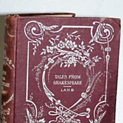 SALE Tales From Shakespeare Lamb Circa 1897