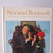 SALE 1st Edition Norman Rockwell A Sixty Year Retrospective 1972