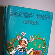 SALE Raggedy Andy's Stories by Johnny Cruelle 1948