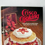 SOLD Crisco Cooking 1st Edition 1982