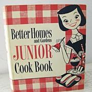 SALE 1st Edition 1955 Junior Cook Book