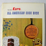 SOLD Karo Cookbook Circa 1960