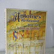 SALE Antoine's Restaurant Cook Book 1979 Beautiful Artwork