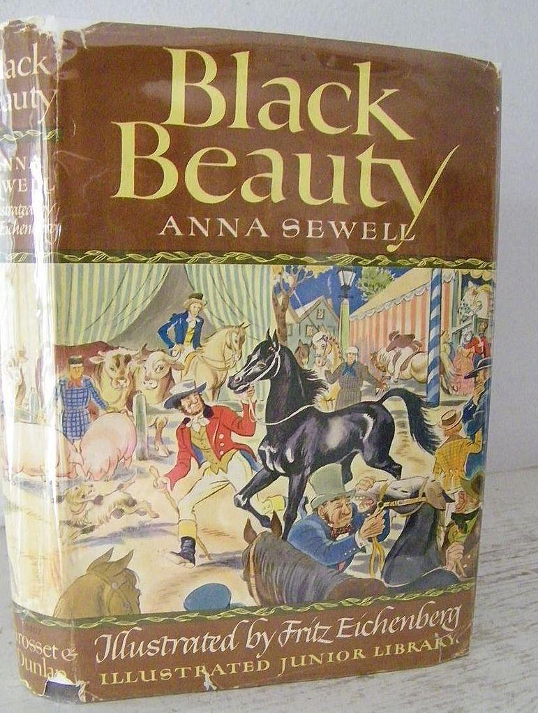 Black Beauty 1948 Beautiful Illustrations!
