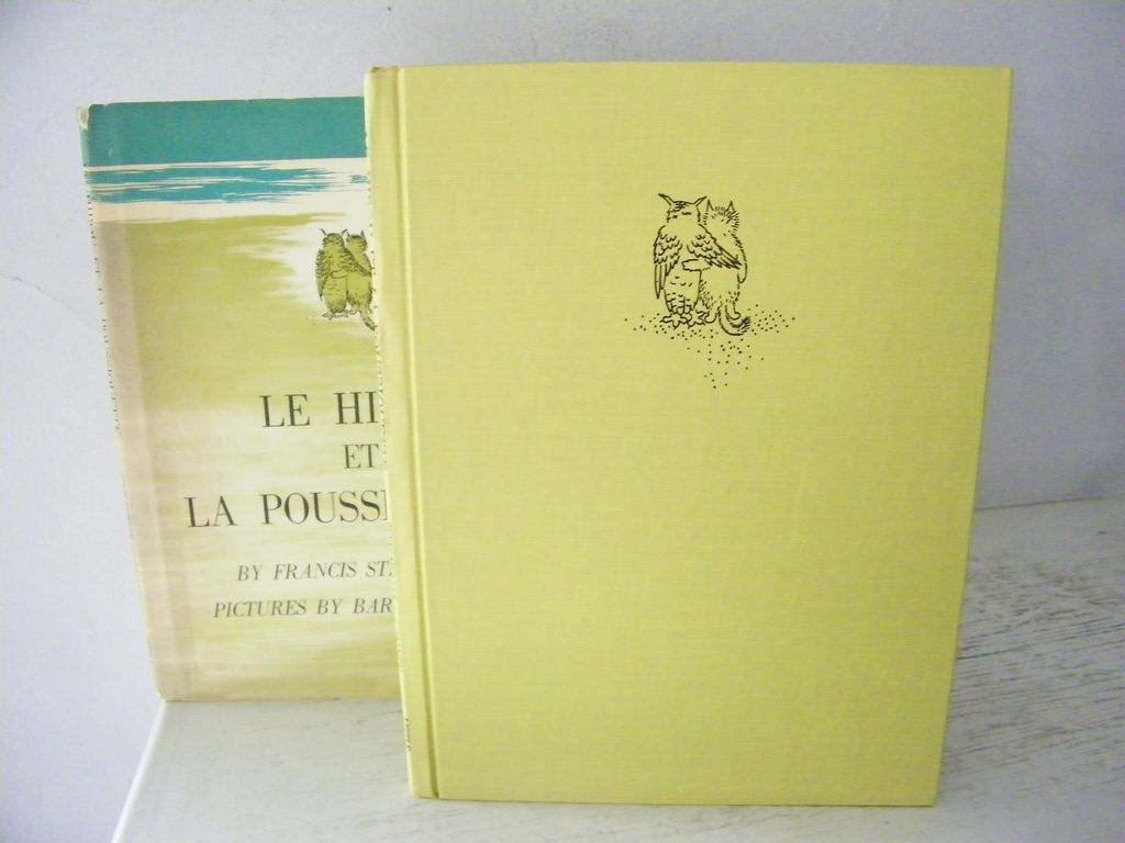 Hibou et Minou ~ The Owl & The Pussycat 1st Edition 1961
