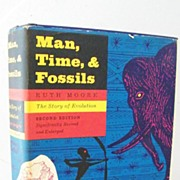 SALE Man Time & Fossils 1963