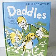 SALE Daddles (about a Hound Dog)