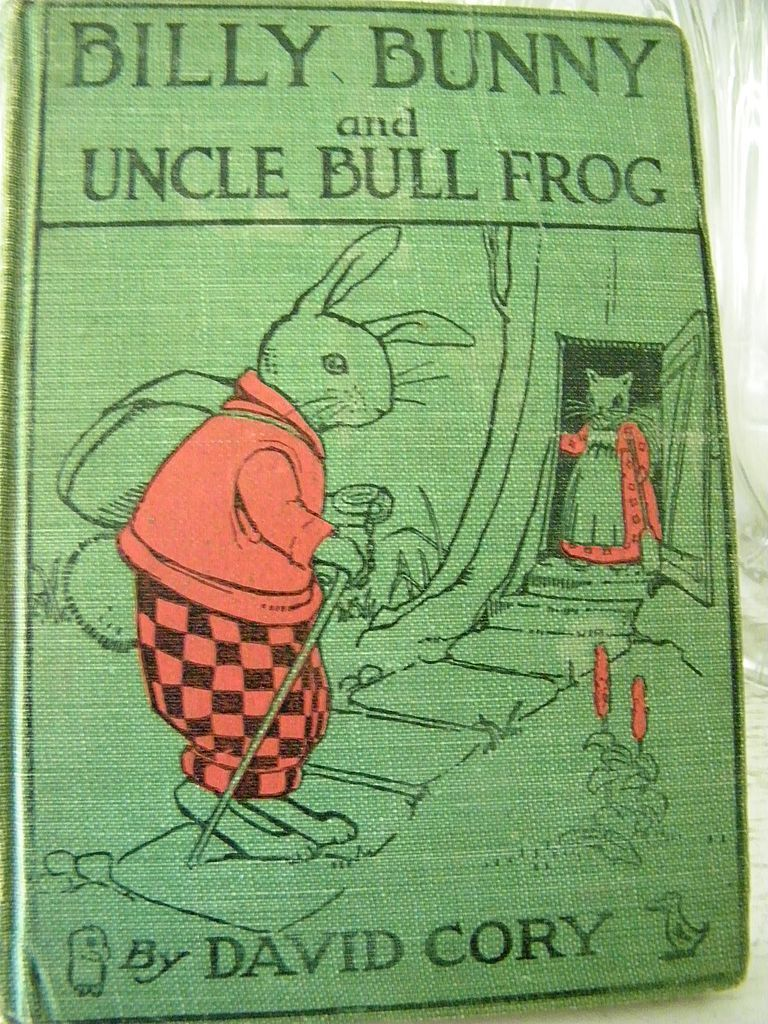 Billy Bunny and Uncle Bull Frog 1st Edition Great Illustrations