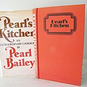 SALE Pearl Bailey Cook Book 1973 stated first edition