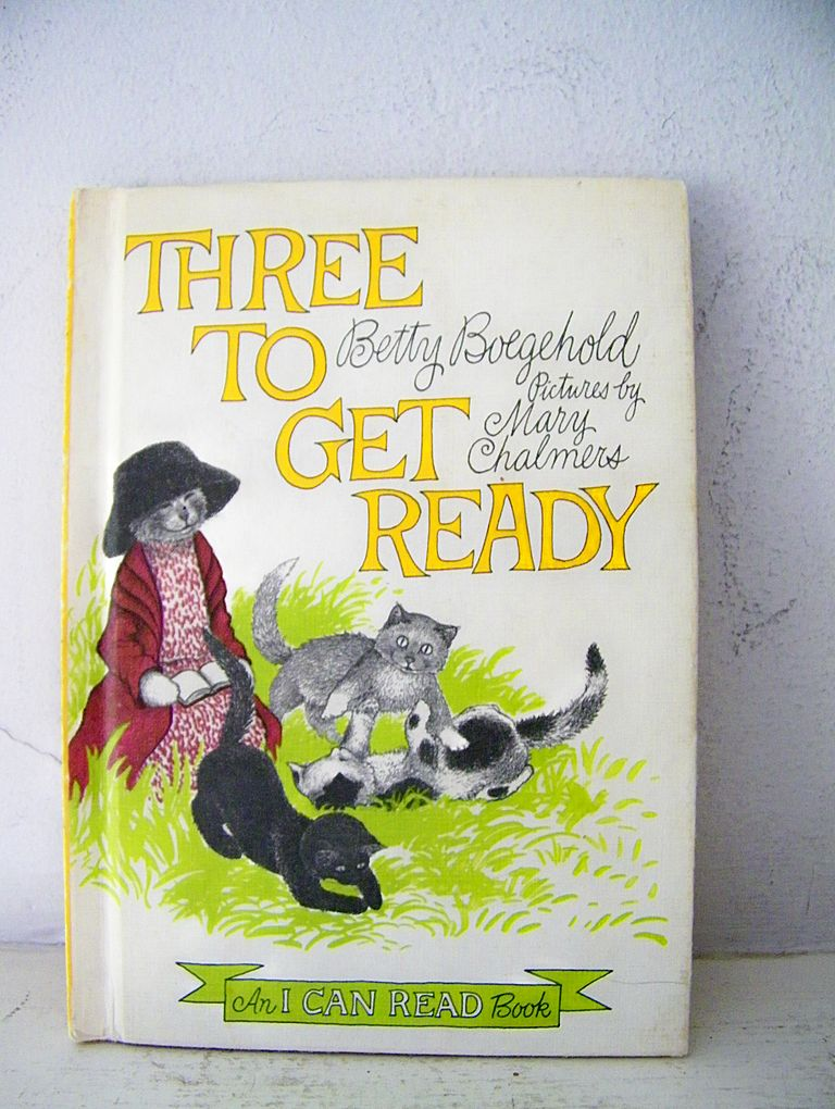 Three To Get Ready 1st Edition