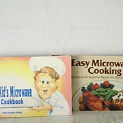 "SALE Two Nitty Gritty Microwave Cook Books "" Kids "" & "" Easy """