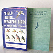 A Field Guide to Western Birds 1st Edition 1941 740 Illustrations