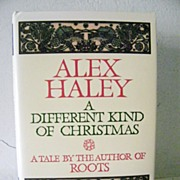 SALE A Different King of Christmas by Alex Haley 1st Edition Mint! 1988