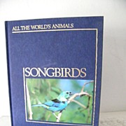 SALE Songbirds with beautiful illustrations 1985