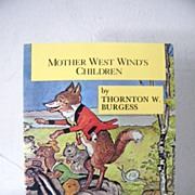 SALE Mother West Winds Children Stories