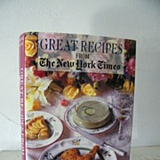 SALE Great Recipes from The New York Times Cook Book