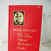 SALE Old Mr. Boston De Luxe Bartenders Guide 1961