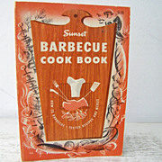 SALE Sunset Barbecue Cook Book 1959