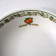 SALE Vintage Southern Pacific Railroad China Golden State Bowls 7 Available HALF OFF if all ..