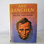 SALE Abe Lincoln Anthology 1st edition