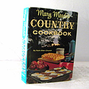 SALE Mary Meade's Country Cookbook 1964