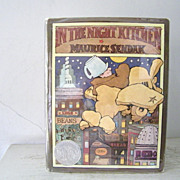SALE FIRST Edition  In The Night Kitchen by Maurice Sendak 1970
