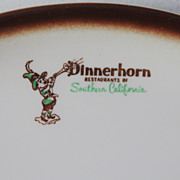 SALE Dinnerhorn Restaurants of Southern California platter