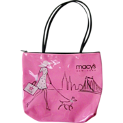 SALE Macy's Vinyl Tote Purse