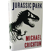 SALE Jurassic Park by Michael Crichton 1st Edition 1st Print