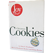 SOLD Joy of Cooking Christmas Cookies 1st edition