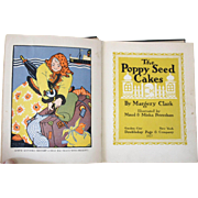 SALE The Poppy Seed Cakes 1927 Fully Illustrated Bold Graphics