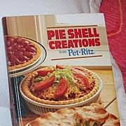 SALE Pet Ritz  Pie Shell Creations Advertising and Recipes 1st Edition