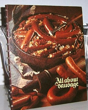 Oscar Mayer Cookbook Sausages Mint!