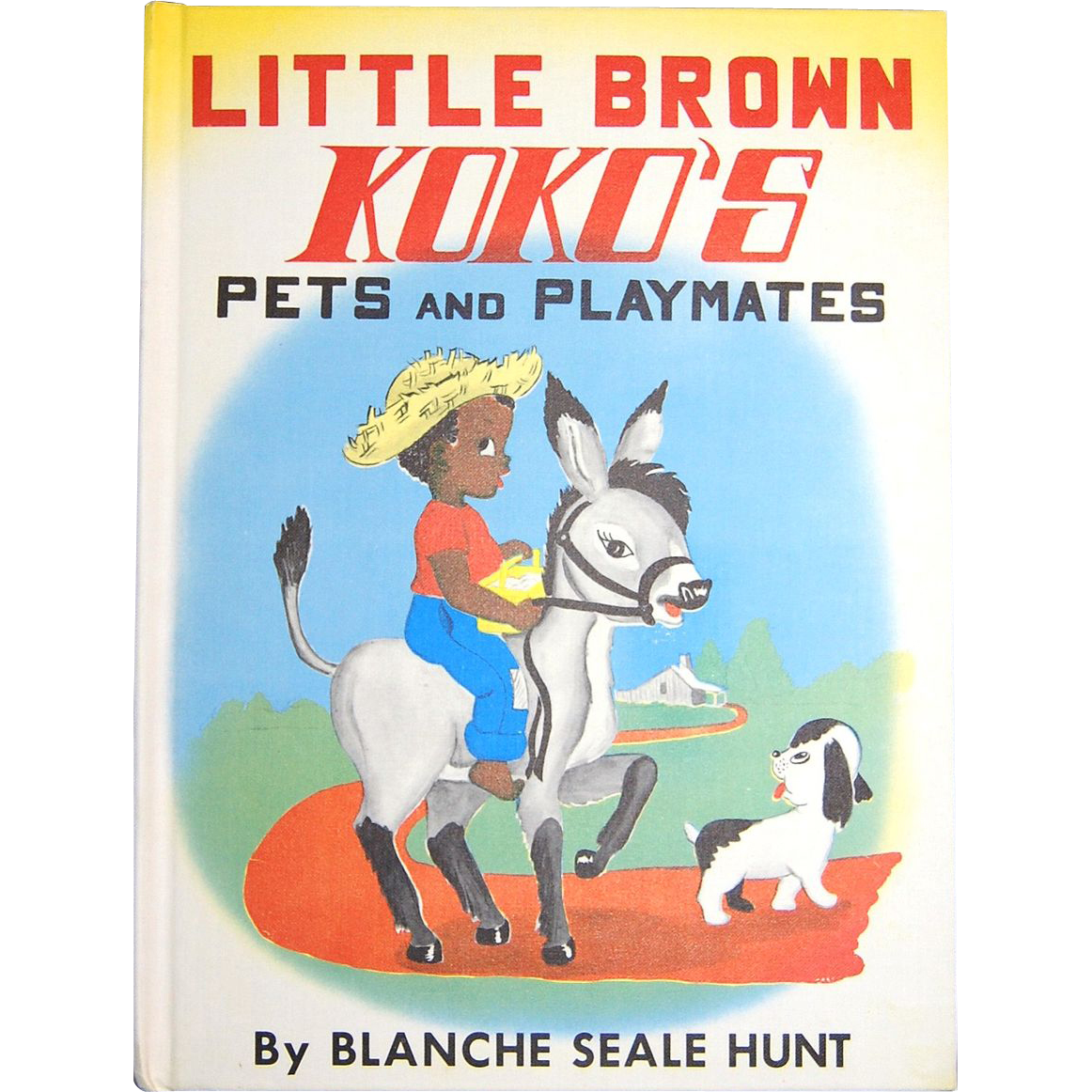 1959 Little Brown Koko's Pets and Playmates H/C Book ~ 1st Edition