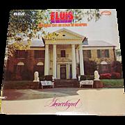 SALE 1977 Elvis ~ Graceland ~ RCA LP Record