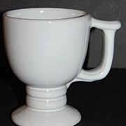 Frankoma ~ Westwind White Sand Pattern #C13 ~ Pedestal Mug