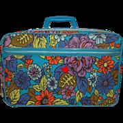 SALE 1960s Bantam ~ Mod Flower Power Suitcase