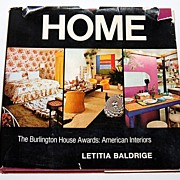 SALE 1972 HOME ~ Burlington House Awards: American Interiors Book