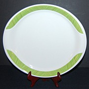 1960/70s Syracuse China ~ Lime Green Chop Plate/Platter