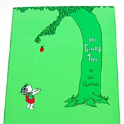 SALE 1992 Shel Silverstein ~ The Giving Tree Hardcover Book