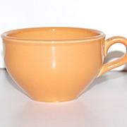 SALE 1950s Russel Wright ~ Iroquois ~ Ripe Apricot Ceramic Cup