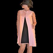 1950/60s Emma Domb ~ Candy Pink Dress Coat