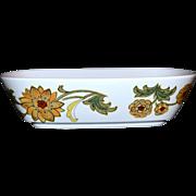 SALE 1970s Noritake ~ Aloha Rectangular Vegetable Bowl