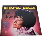 SALE 1960s Chapel Bells ~ Mary Jayne & Jim Owens Orchestra LP Record