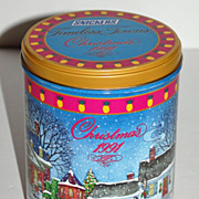 1991 Snickers ~ Timeless Towns Christmas Candy Tin