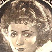SALE 1920s Eduardo Pi Chocolates ~ Gladys Walton Advertising Trade Card