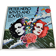 SALE 1976 Peter Nero ~ Wives And Lovers Easy Listening LP Record