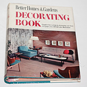 SALE 1950s Better Homes & Gardens ~ Decorating Binder Book w/ Mylar Jacket