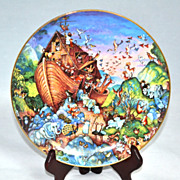 SALE Franklin Mint ~ 'Before The Rain' Collector's Porcelain Plate by Bill Bell