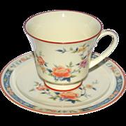 SOLD Noritake ~ 'China Song' Teacup & Saucer
